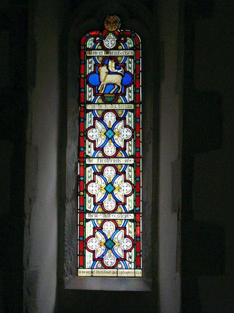 Photo: Chancel Sanctuary Window stained glass