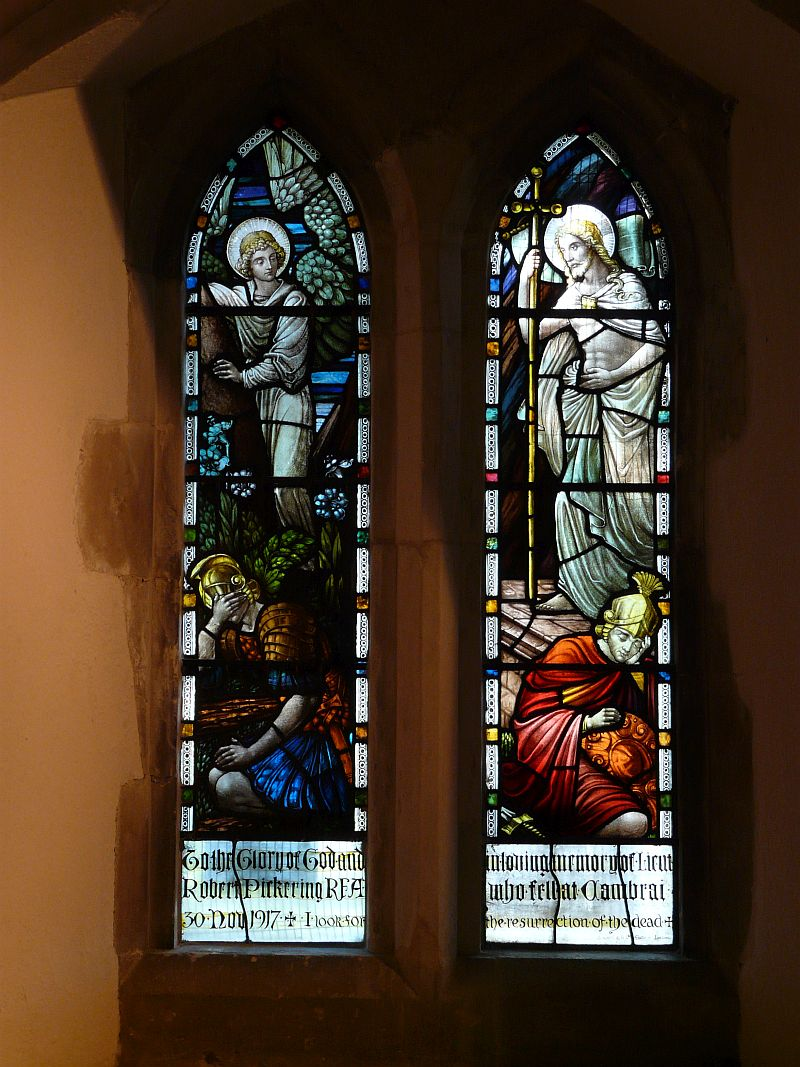 Photo: Pickering Memorial Window stained glass