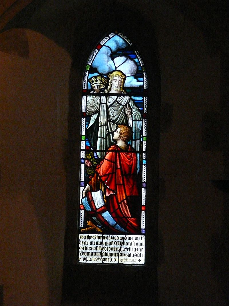 Photo: Gibbs Memorial Window stained glass
